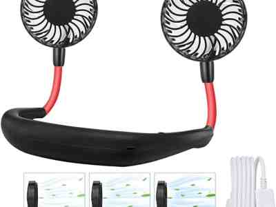 Amazon: Portable Hanging Neck Sports Fan ONLY $7.99