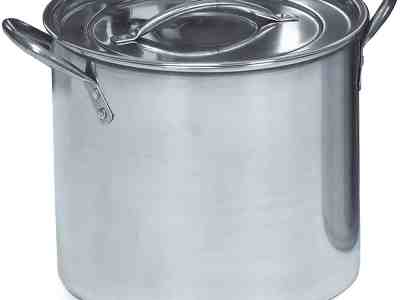 Amazon: Stainless Steel Stock Pot 20-Quart, Silver ONLY $23.68