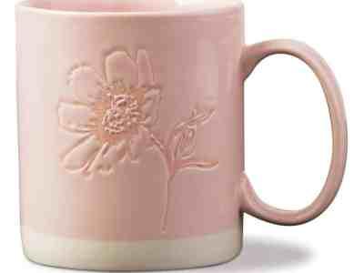 Zulily: Bush Embossed Sunflower Mug ONLY $7.99 (Reg $12)