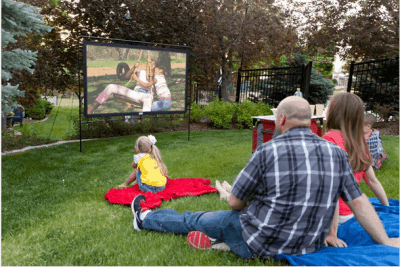 "Woot: Camp Chef OS92L 92"" Portable Outdoor Movie Screen $91.99 (Reg. $139.99)"