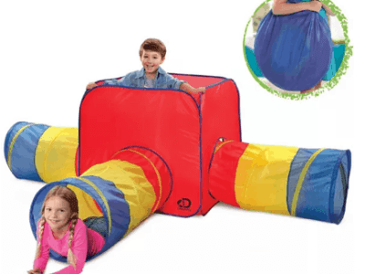 Macy's: Discovery Kids Toy Tent & Tunnels 3 In 1 For $27.99 + FREE Shipping (Reg $69.99)