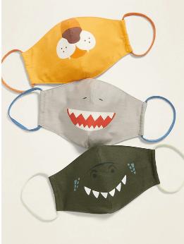 Old Navy: Kids Face Masks STARTING $9.50