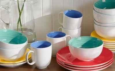 Home depot: StyleWell Mix & Match Dinnerware 16-Piece Set Only $30 (Reg $45)