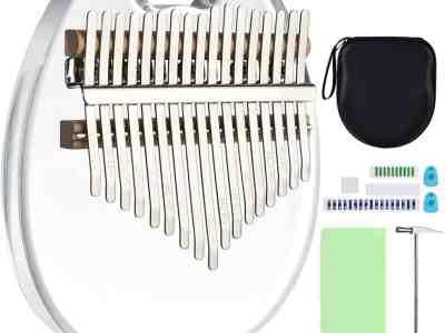 Amazon: 17 Keys Kalimba Clear Thumb Piano For $24.99 (Reg. $49.99)