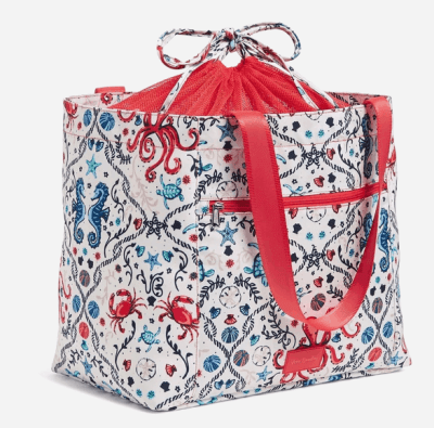 Vera Bradley: Drawstring Family Tote Bag ONLY $32.50 (Reg $65)