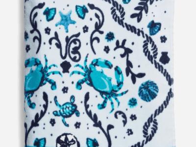 Vera Bradley: Beach Towel ONLY $20 (Reg $40) – More Designs Available!