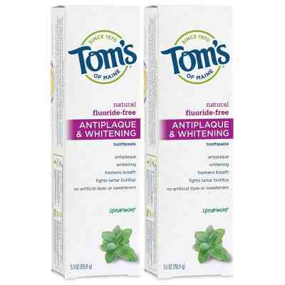 Amazon: Tom's of Maine Fluoride-Free Antiplaque & Whitening Toothpaste, Just $4.74 (Reg $8.72)