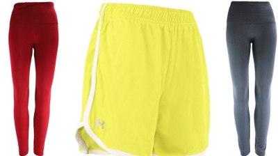 Proozy: Under Armour Women's Shorts & True Rock Leggings Bundle ONLY $15 (Regularly $50)