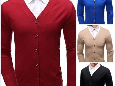 Amazon: Men's Casual Slim Fit Soft Cotton V-Neck Button Down For $6.00