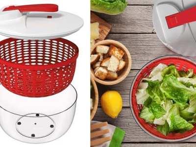 Walmart: Your Choice Kitchen 3 Piece Salad Spinner JUST $21.50 (Reg $42)