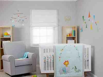 Walmart: Zutano 5 Piece Crib Bedding Set Just $30.86 (Reg. $85.99)