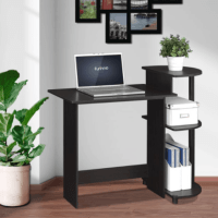 Compact Computer Desk with Shelves $39!!(Reg.$75.99)