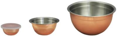 Kohl's: Copper-Plated Mixing Bowl Set, 4-Piece For ONLY $11.19 (Reg $39.99)