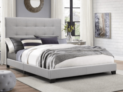 Crown Mark Florence Gray Panel Queen Bed $139!