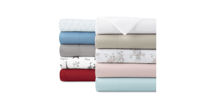 JCPenney: Wrinkle-Resistant Sheet Sets From ONLY $9 (Regularly $26)