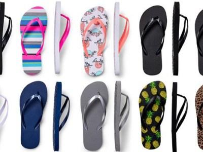 Walmart: Women's Flip Flops 2-Pack for Just $2 (Reg. $3.97)