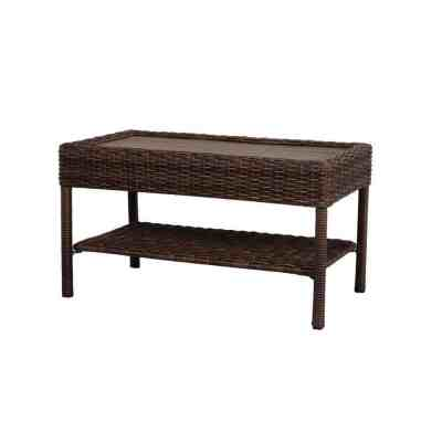Homer Depot: Wicker Outdoor Patio Coffee Table ONLY $99 (Reg $149)