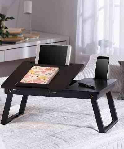 Zulily: Mahogany Angled Folding Leg Mult-Tasking Lap Desk Just $16.99 (Reg $49)