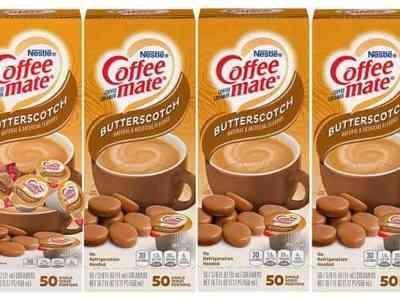 Amazon: Nestle Coffee Mate Coffee Creamer Singles Butterscotch 200-Count JUST $10.70