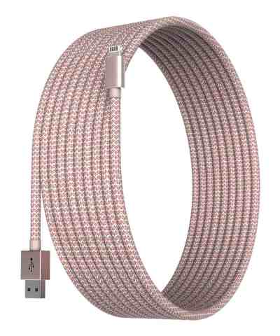 Zulily: Rose Gold 6' Apple-Certified Braided Lightning Cable For Only $9.99 (Reg $39.99)