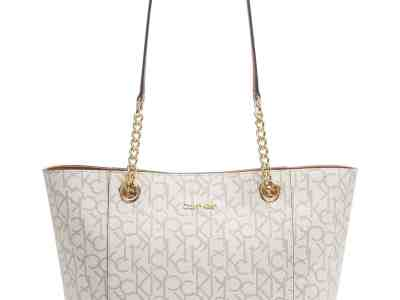 Macy's : Calvin Klein Hayden Large Signature Tote $70.93 (Reg. $178) + Free Shipping.