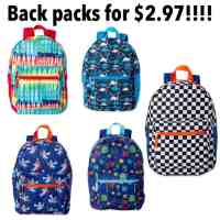 Walmart: Wonder Nation Backpacks For $2.97!!