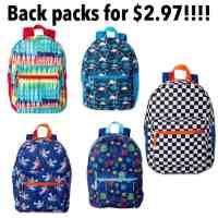 Walmart: Wonder Nation Backpacks For $2.97!!