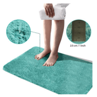 Amazon: Soft Plush Bathroom Rug as Low as  $4.80 W/ Code (Reg. $11.99-29.99)