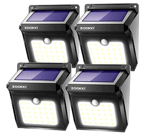 Amazon: Solar Lights Outdoor, 28 LED Wireless Motion Sensor Lights for ONLY $31.99