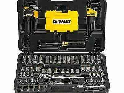 eBay: DEWALT Mechanics Tools Kit and Socket Set, 108-Piece DWMT73801 For $89.99 At (Reg.$163.67)