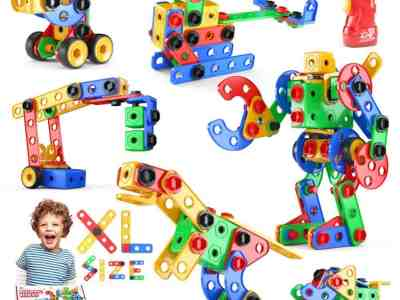 Amazon: 152 Pcs Educational Construction Set Creative Engineering Toys Building Toys Kit for $17.99 (Reg.Price $29.99)