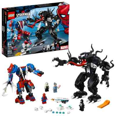 Walmart: LEGO Super Heroes Marvel Spider Mech Vs. Venom 76115 Building Kit for $39.99 Free Shipping! (Reg. $49.99)