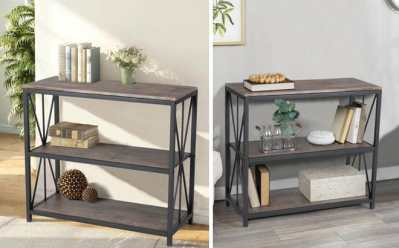 Home Depot: 2 Tier Bookcase Shelf JUST 83 + FREE Shipping (Regularly $130)