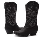 Amazon: Shoes Women's Cowboy Boots 72% Off W/ Code