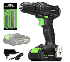 Amazon: Cordless Drill Driver with Work Light for $26.76 (Reg. $46.99)