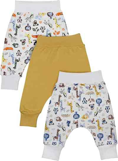 Amazon: 3 Pack Cotton Newborn Onesies Infant Pants Set for $5.06 (Reg.Price $11.95) after coupon!