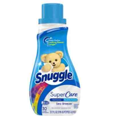 Amazon: 30 Loads Snuggle SuperCare Liquid Fabric Softener, for $2.99 (Reg. Price $5.99)