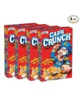 Amazon: 4 Pack Cap'n Crunch Breakfast Cereal, Original for $7.50