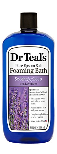 Amazon: 34oz Dr. Teal's Foaming Bath with Pure Epsom Salt + Lavender for $3.33 (Reg. $4.87)