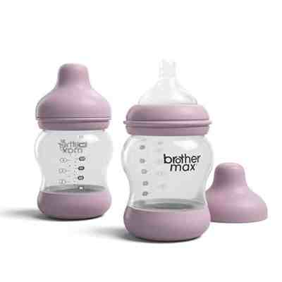 Amazon: 2 Pack Anti-Colic Breast-Milk Feeding Bottles, 5oz for $7.00 (Reg. $13.99)
