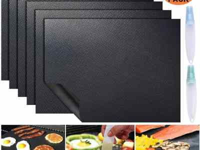 Amazon: 6 Pack Large Grill Mat for $6.99 (Reg.Price $13.99) after code!
