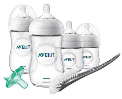 Walmart: Philips Avent Natural Baby Bottle Newborn Starter Gift Set, SCD209/01 ONLY $22.49 + Free Store Pickup! (Reg. $29.99)