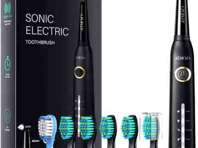 Amazon: $5 Off Electric Toothbrushes for Adults with 8 Heads for $11.99 (Reg. $22.95)