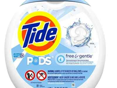 Amazon: 81 Count Tide Laundry Detergent Pods, Free & Gentle for $19.99