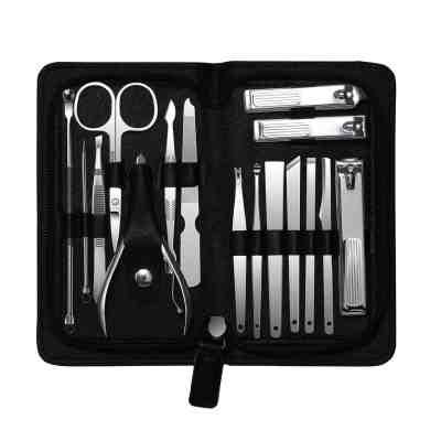 Amazon: 16 Pcs Stainless Steel Manicure/Pedicure Kit for $7.49 W/Code (Reg. $14.99)