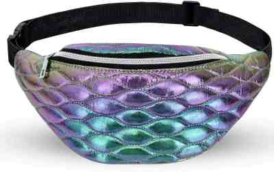 Amazon: Holographic Wais Bags for $6.99 W/Code (Reg. $13.99)