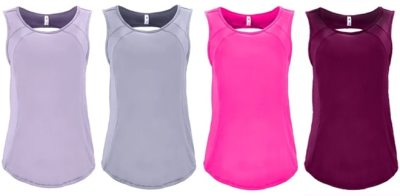 Proozy: Women's Open-Back Mesh Contrast Tank Top ONLY $10 Each (Regularly $44)