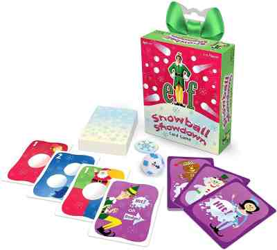 Amazon: Elf Snowball Showdown Card Game, Pre-order for September 30th