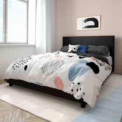 Walmart: Mainstays Upholstered Bed For $141.00-$168.00