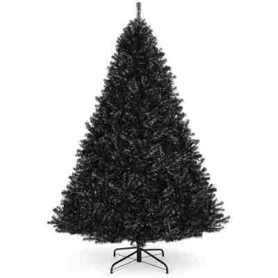 BCP: Black Artificial Christmas Tree, Foldable Metal Stand $69.99 (Reg $114.99)